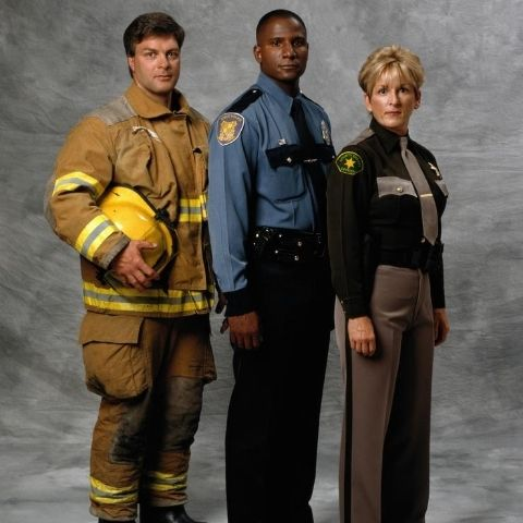 Fire fighter, police officer, and sherrif
