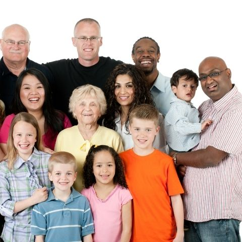 Diverse family